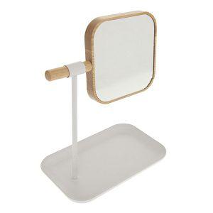 Ogledalo s podloškom pomično, od bambusa 5five Simply Smart 666654