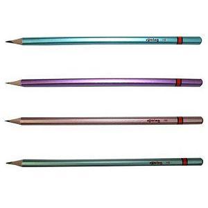 Olovka drvena Rotring Metalic R2090067 HB 4boje