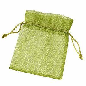 Pamučna vrećica zelena 10 x 13 cm