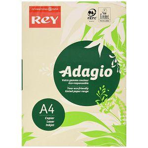 Fotokopirni papir Adagio pastelne boje A4 160gr 250/1 bež