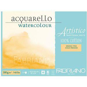 PAPIR FABRIANO 45.5x61cm 300gr 10lista Artistico za akvarel 30014561