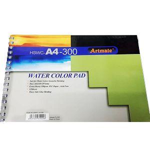 Papir slikarski akvarel 21x30cm 300gr 12L Artmate