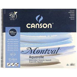 Papir slikarski akvarel 37x46cm 300gr/12Lista Canson Montval