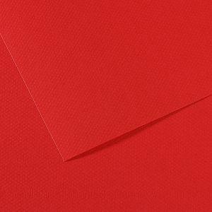 Papir slikarski pastel 50x65cm 160g Canson Mi-Teintes crveni