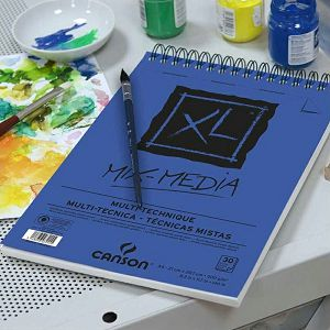 Papir slikarski za akvarel A3 29,7x42cm 300gr/30L Canson XL Mixmedia