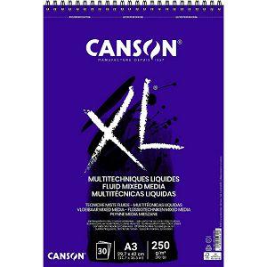 Papir slikarski za crtanje A3 250gr/30Lista Canson XL