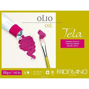 Papir za ulje 30x40cm 300gr 10L Fabriano Tela