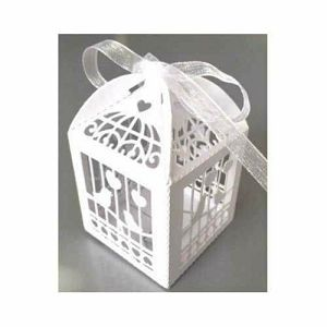 "Papirnata filigran kutija ""Krletka"""