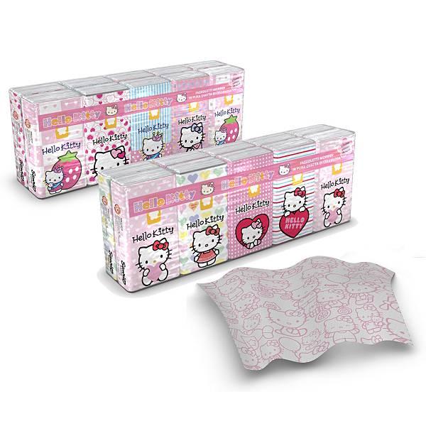 Maramice papirnate Hello Kitty 9/1 4-slojne