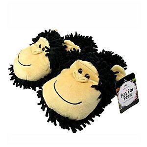 PAPUČE Fun For Feet Fuzzy Čimpanza 35.5-40.5