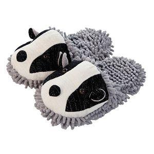 PAPUČE Fun For Feet Fuzzy Jazavac 35.5-40.5