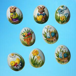 "Plastični kalup 3D Uskrs ""Uskršnja jaja"" KERA flott"
