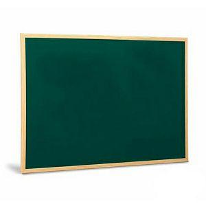 Ploča za pisanje s kredom, drvena, zelena podloga 40x60cm 503-2