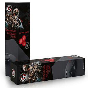 PODLOGA MOUSE Gembird Gaming XL, 900x350mm, crna