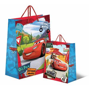 POKLON VREĆICA Cars Disney M 20.5x26x11cm 085242
