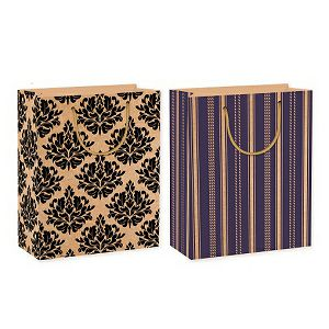 Poklon vrećica Decorate Velika 26x32.4x12.7cm 182015 2motiva