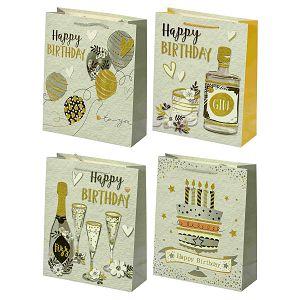POKLON VREĆICA Happy Birthday, srednja 501437 4motiva