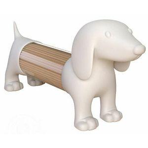 Posuda za čačkalice Pas bijeli 259895