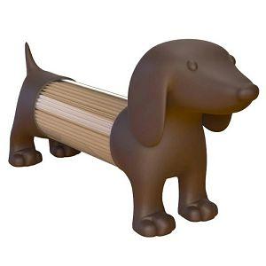 Posuda za čačkalice Pas smeđi 259918