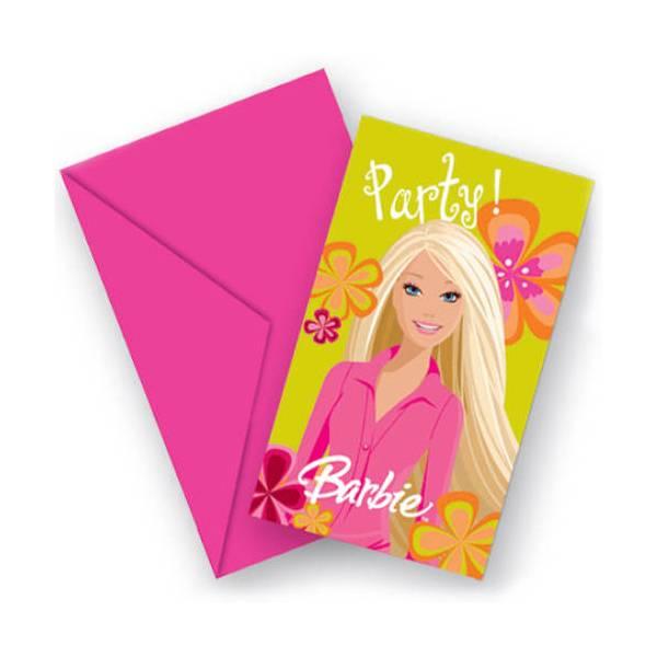 Pozivnice Barbie 6/1