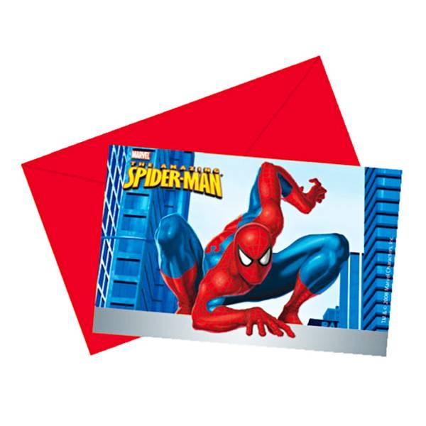 Pozivnice Spiderman 6/1