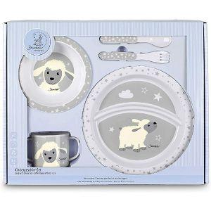 PRIBOR ZA JELO Stanley zdjelica+šalica+tanjur+žlica+vilica Sterntaler 931640