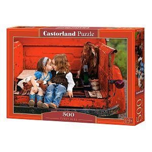 Puzzle 500 Castorland Prvi poljubac