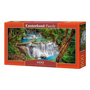 Puzzle 600 Castorland B-060160 Vodopad