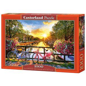 PUZZLE CASTORLAND 1000kom Amsterdam most 104536