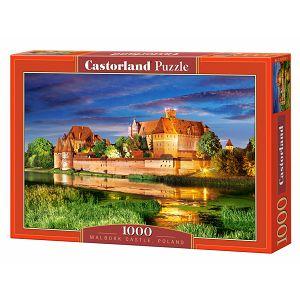 PUZZLE CASTORLAND 1000kom Dvorac Malbork 103010
