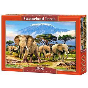 PUZZLE CASTORLAND 1000kom Jutro na Kilimanjaru 103188