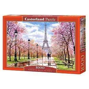 PUZZLE CASTORLAND 1000kom Romantična šetnja Parizom 104369