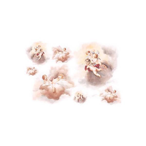 """Rižin papir """"Anđeli na nebu"""", 35 x 50cm"""