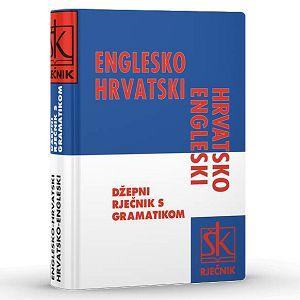 RJEČNIK ENGLESKI Engl/Hrv-Hrv/Engl.džepni za osnov.školu ŠK