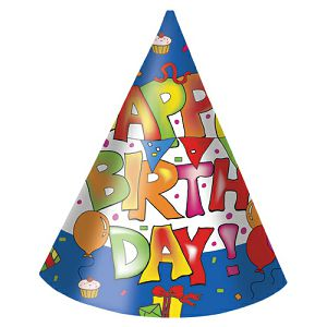 Rođendanske kape Happy birthday 6/1 808658