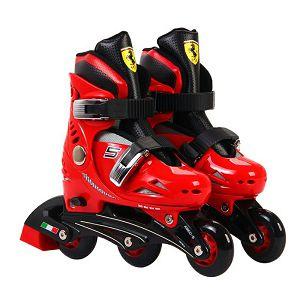Role dječje + štitnici za koljena + štitnici za laktove Chipolino Ferrari 33-36