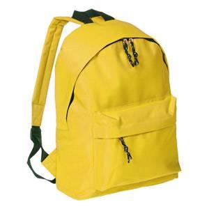 Ruksak školski jednobojni Trober 9012-05 žuti