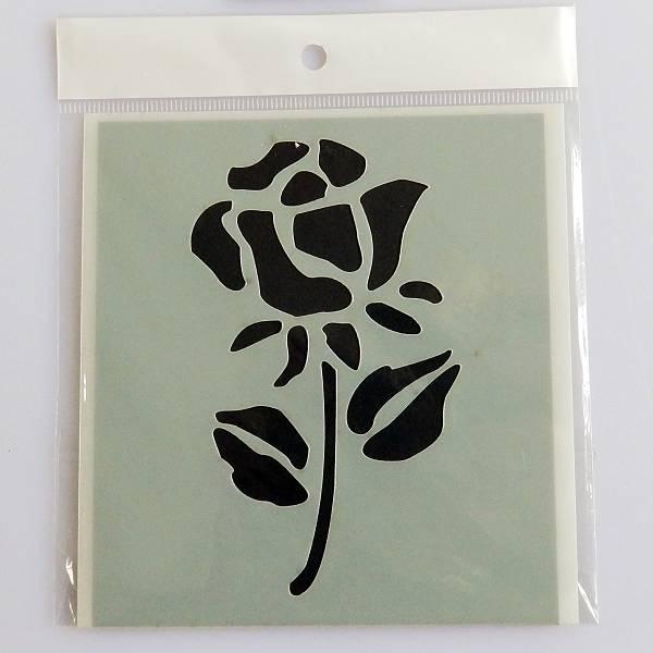 Ruža šablona 11 x 11,5cm