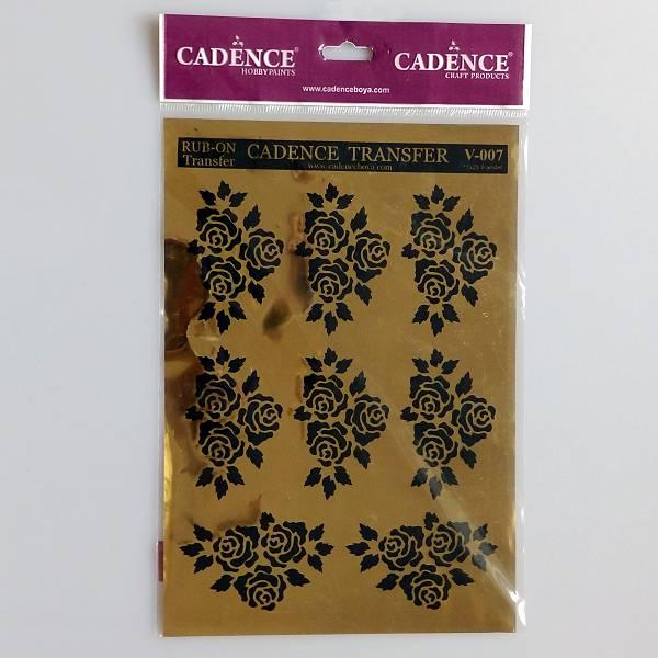 Ruže Hobby Transfer Papir 17 x 25cm Cadence