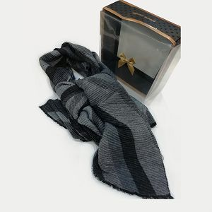 Šal muški Pierre Cardin GVS770 sivi/crni