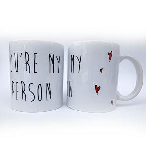 Šalica keramička Valentinovo YOURE MY PERSON
