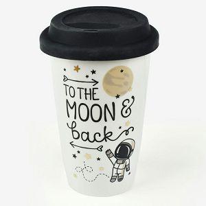 ŠALICA PUTNA Americano To the Moon and back 0.35L Legami 263776