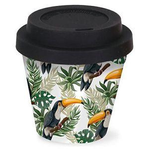 ŠALICA PUTNA Bamboo 90ml Ptica 048502
