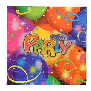 SALVETE Ballon Party 33x33cm 20/1 551055