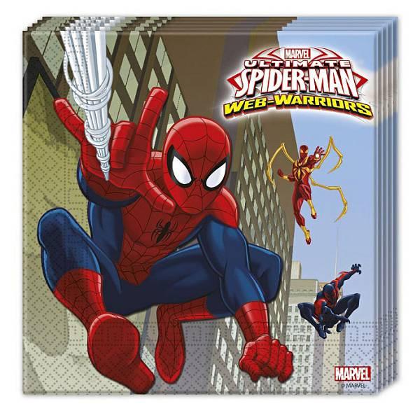 Salvete Spiderman 20/1 33x33cm