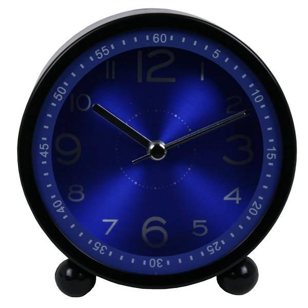 Sat stolni s alarmom Iron crni