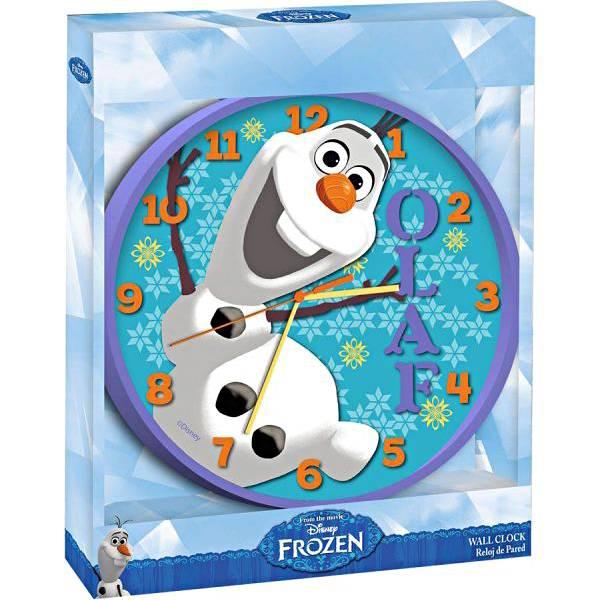 Sat zidni 24cm Olaf Frozen WD16344