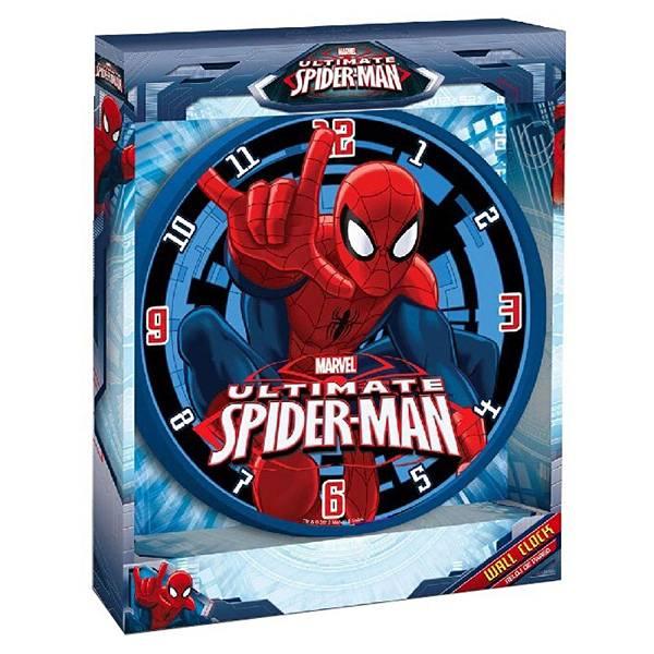 Sat zidni 25cm Spiderman MV10047