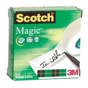 Selotejp 19mmx33m Magic tape Scotch,prozirno bijeli
