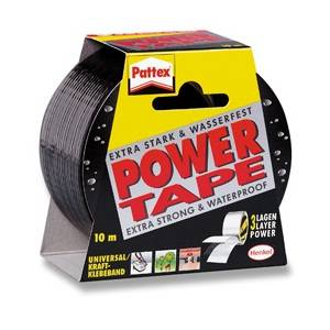 Selotejp 50mmx10m Power Tape Henkel,crni